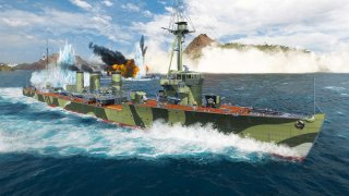 World of Warships: Legends — Iwaki Typhoon
