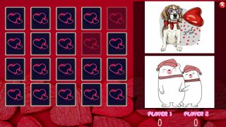 All Valentine Pairs Memory Game (itch)