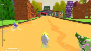 Super Chicken Run - Chicken Racing Games for Kids