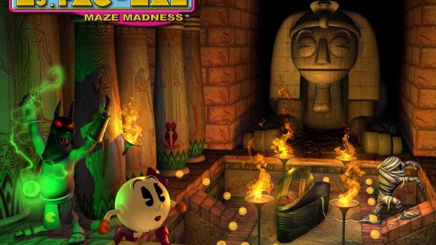 Ms. Pac-Man Maze Madness