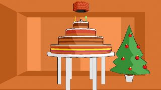 Santa and the giant cake (itch)