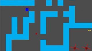 An annoying maze game (itch)