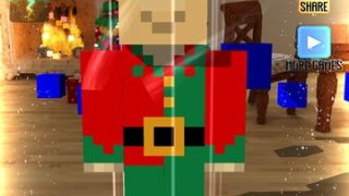 1000000 Voxel Gifts - Christmas Edition 3D with Minecraft Skin Uploader