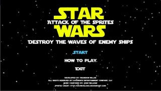 Star Wars: Attack Of The Sprites (itch)