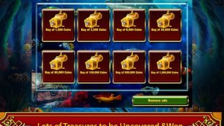 Golden seahorse progressive slotmachine: deep ocean adventure with plenty of treasure!