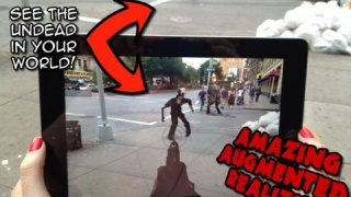 Zombies GO! Fight The Dead Walking Everywhere with Augmented Reality (FREE Edition)