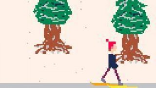 ZXC Skiing - Pixel Prototype Week 4 (itch)