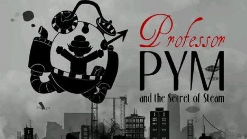 Professor Pym and the Secret of Steam