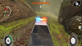 3D Off-Road Police Car Racing - eXtreme Dirt Road Wanted Pursuit Game