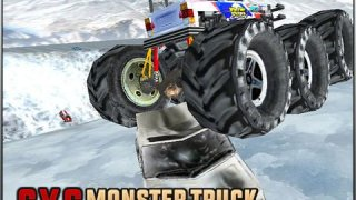 6X6 Monster Truck Car Smashing