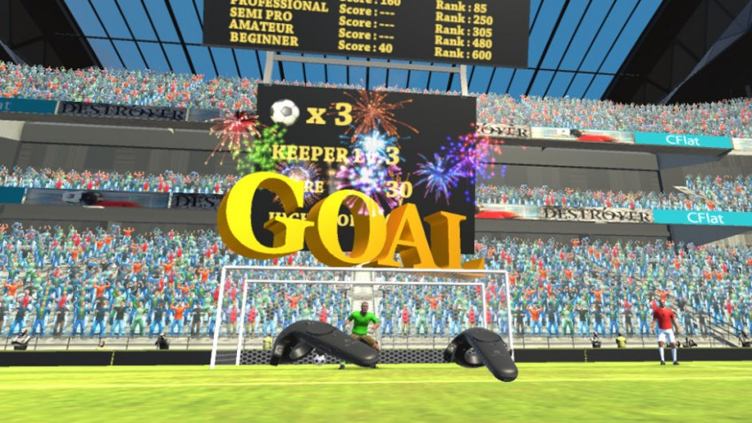 Head It!: VR Soccer Heading Game