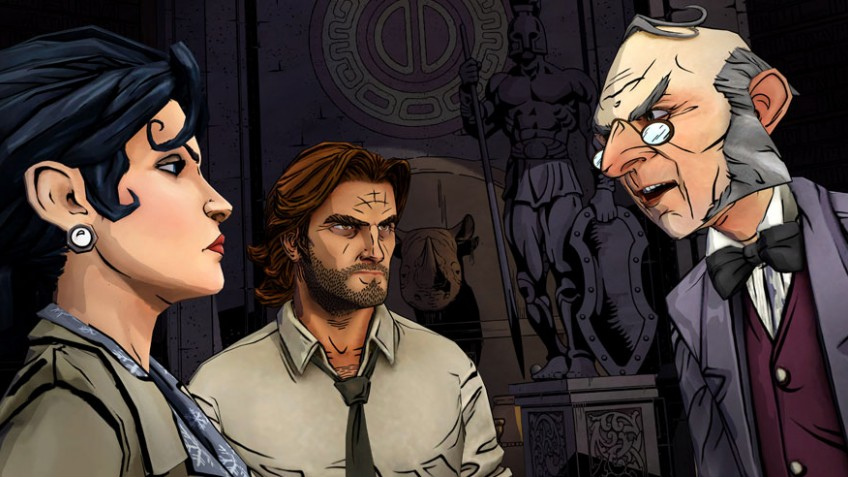 The Wolf Among Us: Episode1 - The Faith