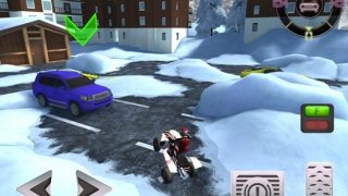ATV Quad Bike Parking PRO - Full Snow Version