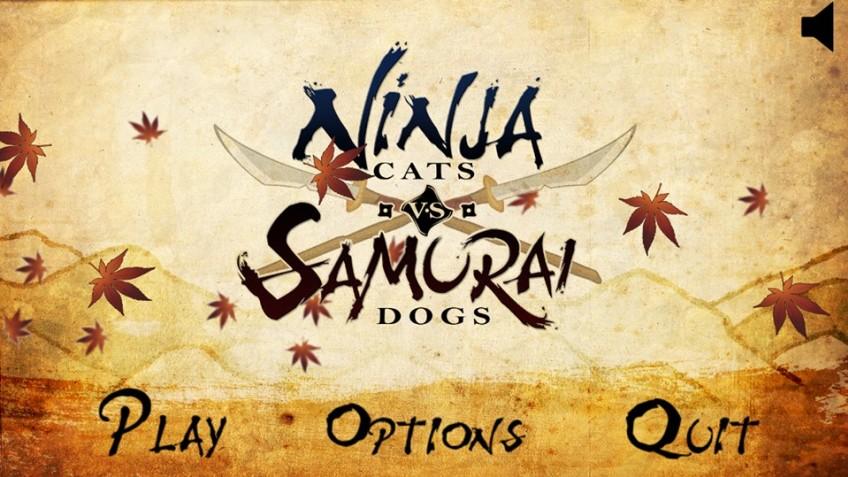 Ninja Cats Vs Samurai Dogs