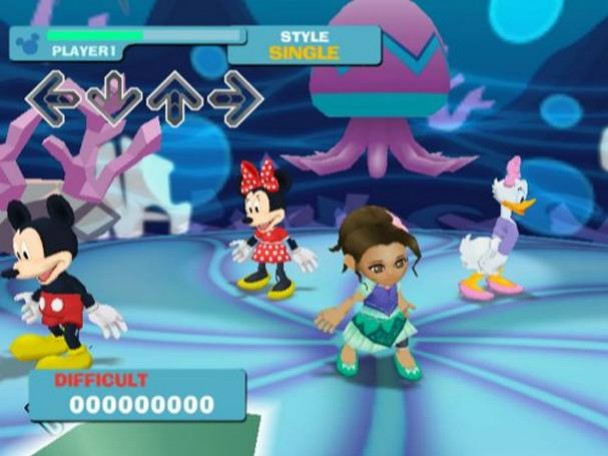 DanceDanceRevolution: Disney Grooves