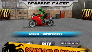 3D SuperBike Traffic Rush Racing - High Speed Highway Rider: FREE GAME