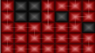 ZigZag Puzzle. Red and black