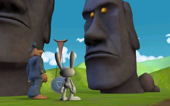 Sam & Max: Season 2 - Episode 2 - Moai Better Blues