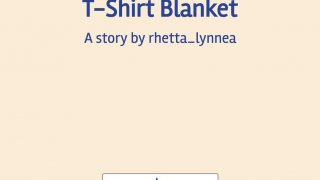 T-Shirt Blanket (itch)