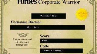 Forbes Corporate Warrior