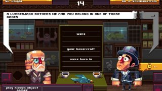 Oh Sir! The Insult Simulator