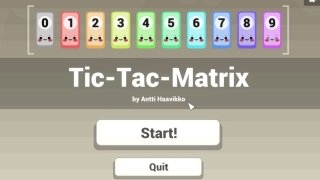 Tic-Tac-Matrix (itch)