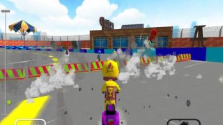Scooter Bike Racing - Free 3D Scooter Bike Racing