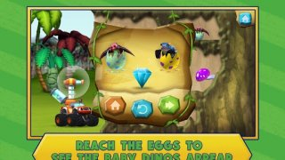 Blaze Dinosaur Egg Rescue Game