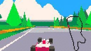 Virtua Racing Demake (itch)