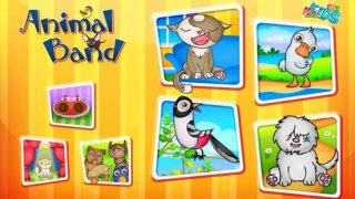 123 Kids Fun ANIMALS BAND - Music Educational Game