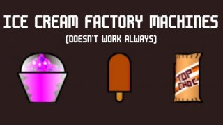 Ice cream factory machines (itch)
