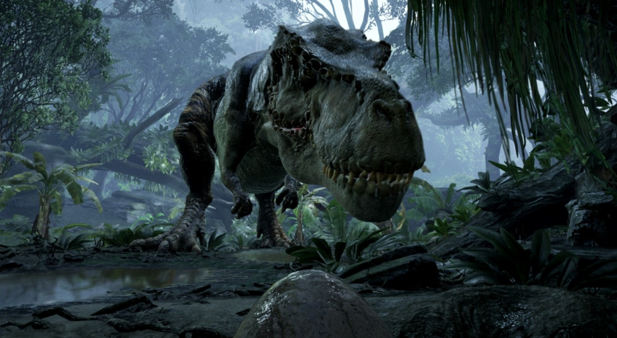 Back to Dinosaur Island
