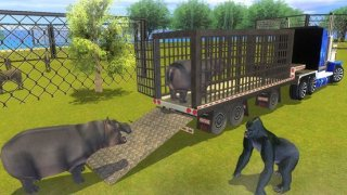 Zoo Animals Transporter Truck parking Simulator 3D
