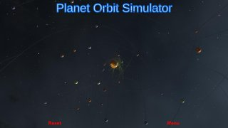 Soloar System Planets Simulator (itch)