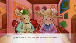 Country Mouse and City Mouse (itch)