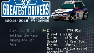 Greatest Drivers (itch)