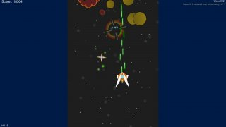 2D Space Shooter thingy - (Not) my first game (itch)