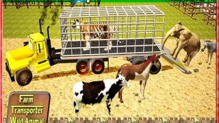 Zoo Transporter Fun 2016 – Jungle animals Vs Farm Animal Mayhem