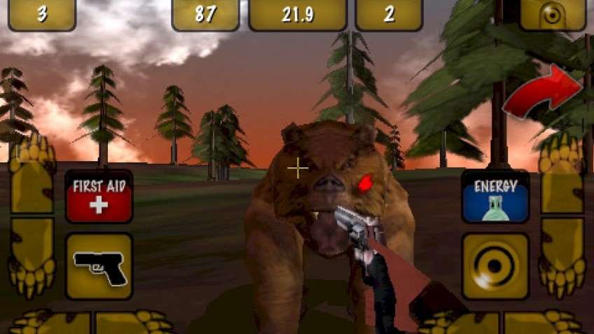 3D Hunting Grizzly
