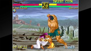 ACA NEOGEO ART OF FIGHTING 3