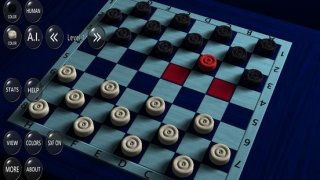 3D Checkers Game