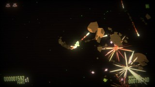 SPACE ASTEROID SHOOTER : RETRO ACHIEVEMENT ODYSSEY