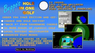 Beppo's Hole in One Golf (itch)