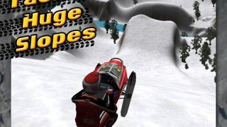 Arctic Fury 3D Off-Road Snowmobile Parking Extreme - Snow Mountain Stunt Racing Simulator FREE