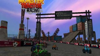 Monster Tractor Racing