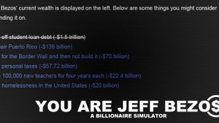 You Are Jeff Bezos (itch)