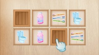 Bathroom Puzzle game for kids