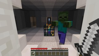I Bash Zombies (Minecraft Wiimote Mini-Game) (itch)