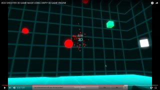 Box shooter in Unity 3D (itch)