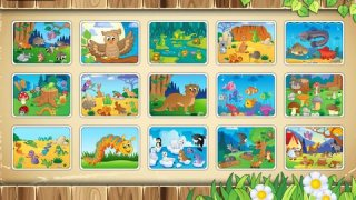 Animals Around The World - free educational puzzle for toddlers and kids